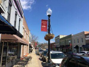 Downtown Apex NC